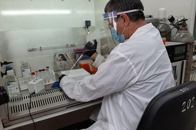 Haciendo gárgaras diagnostican coronavirus en tiempo record