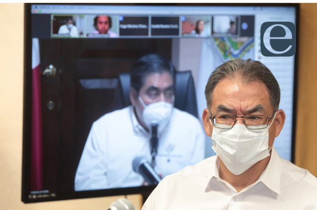 En escuelas y hospitales, la vacuna  para maestros en Puebla: SEP