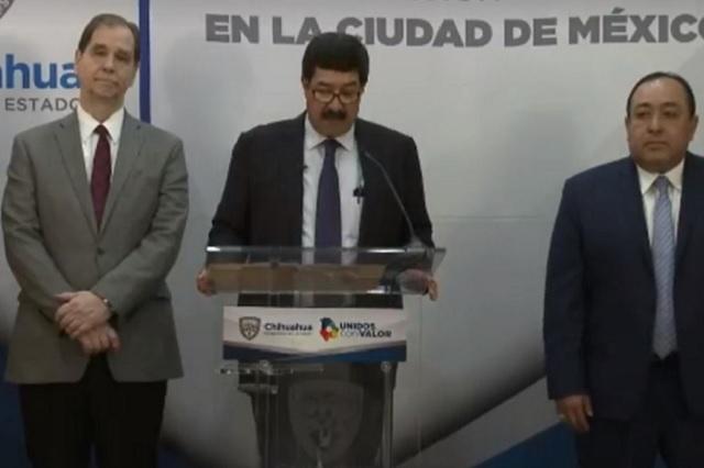 Chihuahua anuncia 5 nuevas órdenes de aprehensión en contra de Duarte