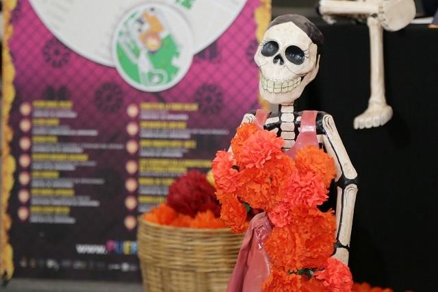 Presenta el gobierno de Puebla el corredor de ofrendas 2018