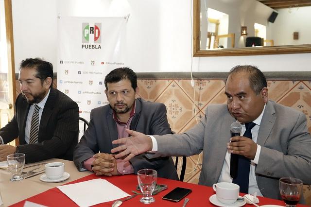 Defiende Corriente Crítica del PRI a Marín ante expulsión