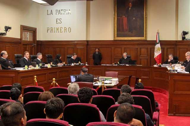 Firme, recurso en SCJN por toma de protesta del Ejecutivo: Morena