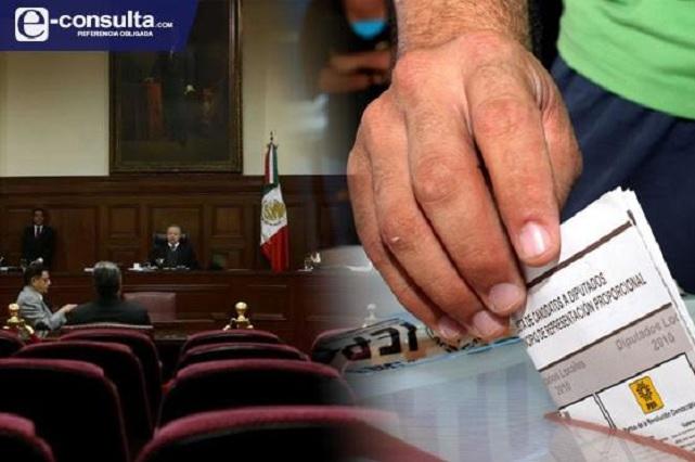 Ahora impugnan ante la Corte la reforma electoral de Puebla