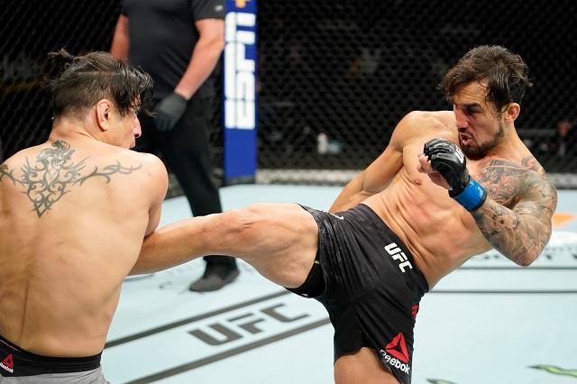 El aparatoso corte en la espinilla que sufrió mexicano en la UFC