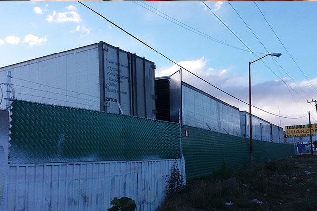 Aseguran corralón en Tlaxcala con vehículos robados en Puebla