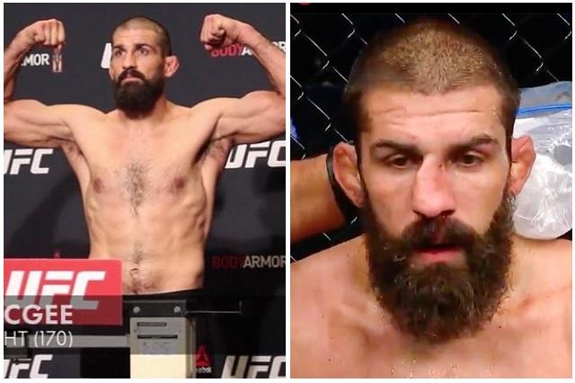 Peleador de la UFC reacomoda su nariz rota en pleno combate: Video