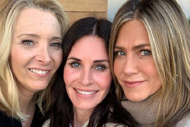 Así reaccionó Courteney Cox a foto de Friends de Jennifer Aniston