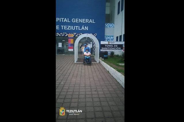 Al menos 8 empleados del Hospital General de Teziutlán portan Covid-19