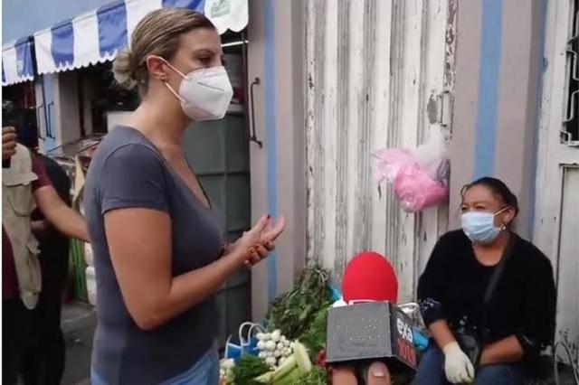 Vigilan que comercios de Teziutlán respeten medidas contra Covid