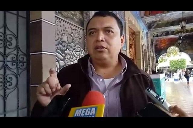 Pese a prueba positiva de Covid, edil de Tehuacán asiste al Cabildo