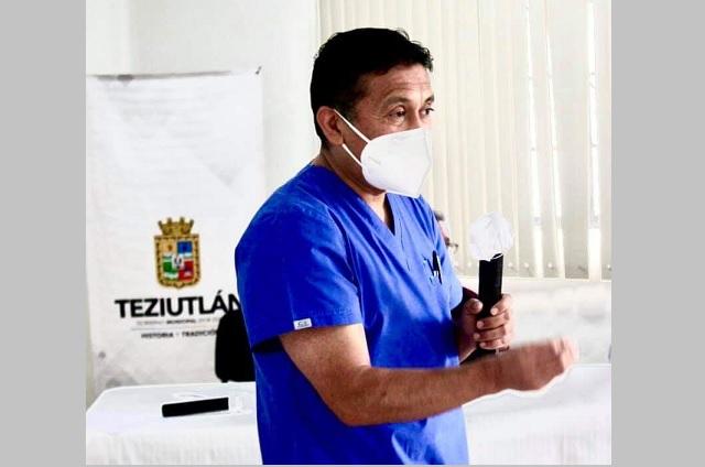 Director del Hospital General Teziutlán da positivo a COVID