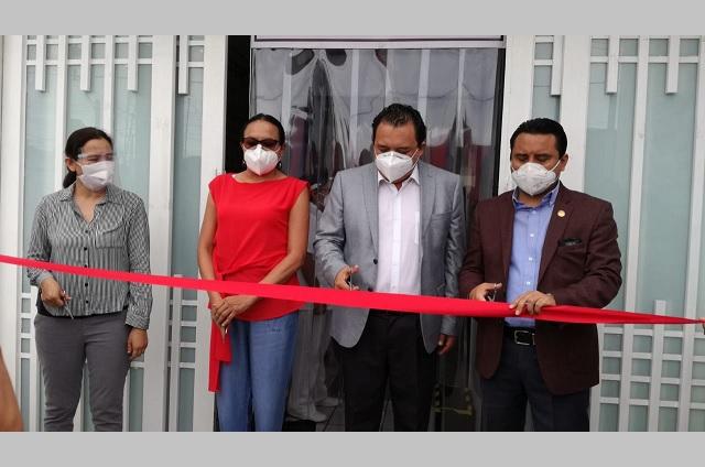 Inauguran el Centro de Atención Temprana Covid en Tehuacán