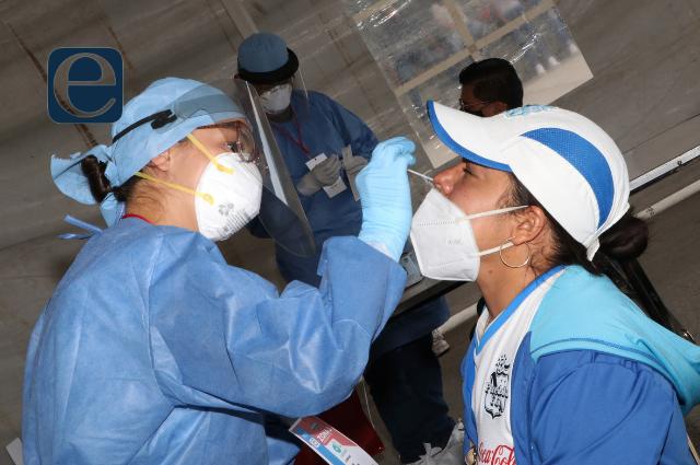 Reportan 6 muertes y 44 nuevos contagios de Covid-19 en Puebla