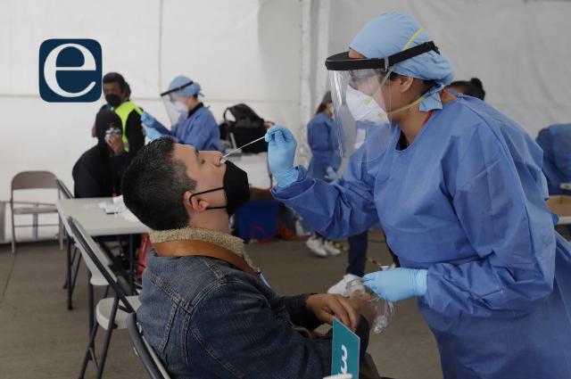 Covid: avanza vacunación en Puebla; positividad sigue alta