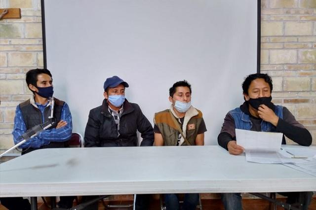 Acusan imposición de inspector a modo en Tequitlale en Coyomeapan
