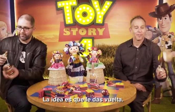 Juguetes mexicanos llegan a manos de creadores de Toy Story 4