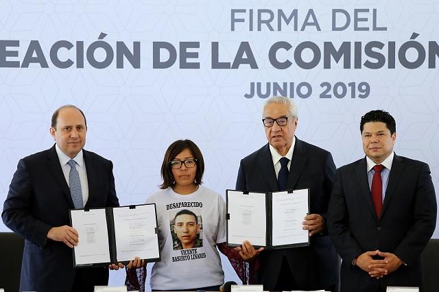 Crean comisión de búsqueda de desaparecidos en Puebla
