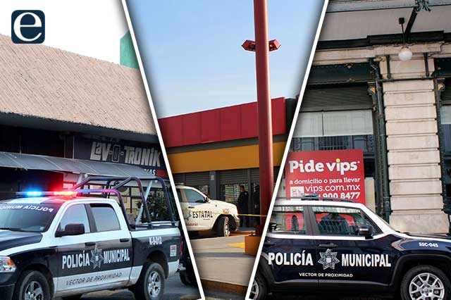 Aumenta 7 por ciento robo a negocios en Puebla