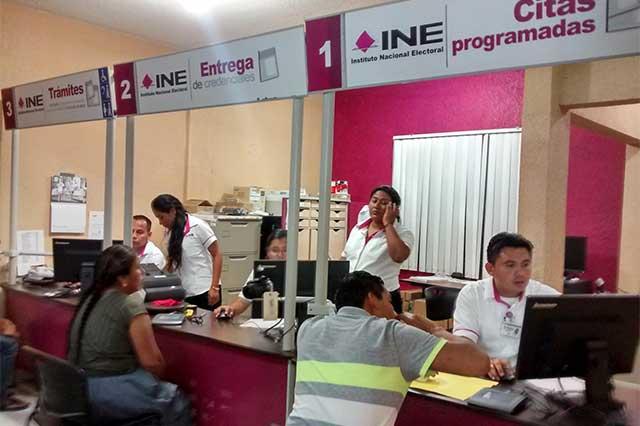 Facilitarán reposición de credenciales para votar extraviadas por el sismo
