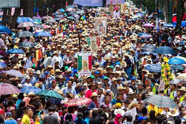 Visitan a la Guadalupana más de 4 millones de creyentes