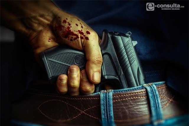 Asesinan a un hombre a unas calles de la comandancia de Chietla