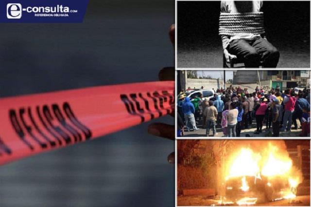 Con violencia extrema ubican 98 asesinatos en Puebla este 2020