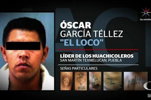 Achacan al Loco Téllez huachicol, secuestros y asesinatos