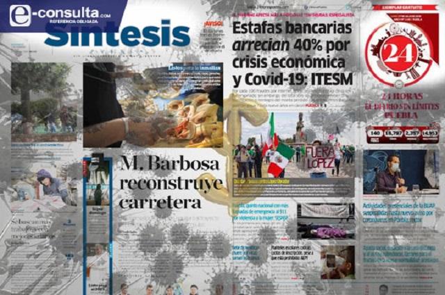 Anuncian cierres los medios poblanos Síntesis y 24 Horas