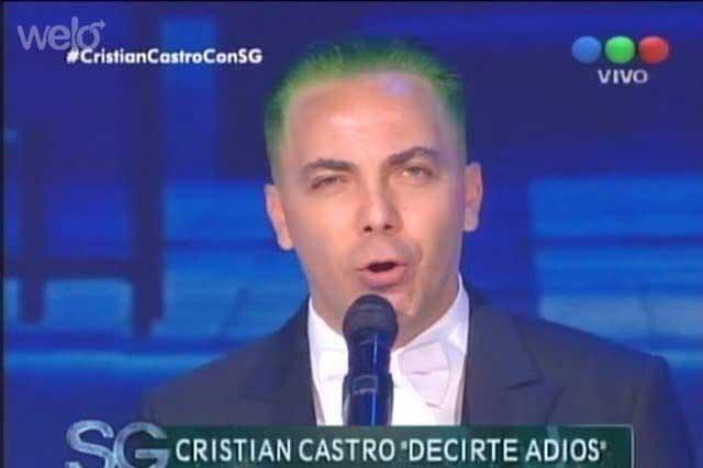 Cristian Castro regresa a Twitter y se burla de su nuevo look