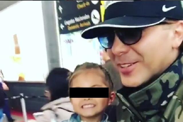 Cristian Castro comparte tierno momento junto a su hija Rafaela Castro