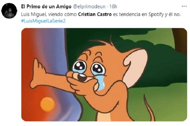 Serie de Luis Miguel hace tendencia a Cristian Castro e inspira memes