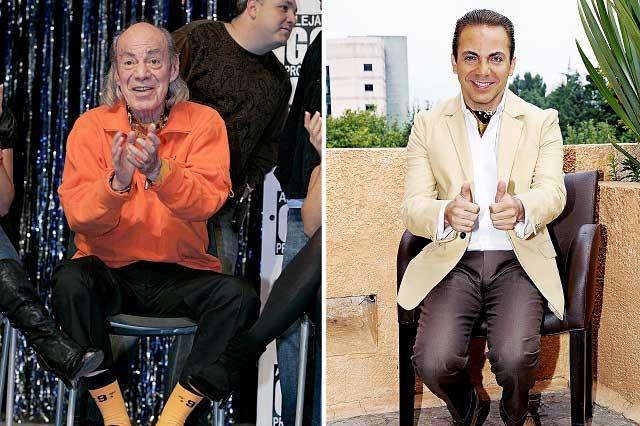 Cristian Castro se reencontrará con El Loco Valdés esta semana