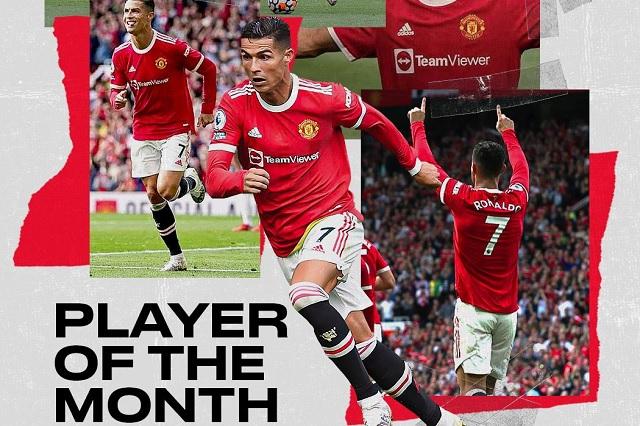 La Premier League tiene dueño: CR7, el mejor jugador del mes