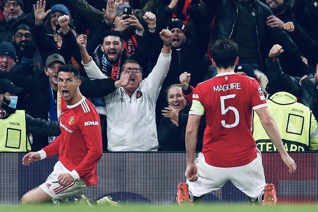 Cr7 vuelve a salvar al United: remontan 3-2 ante Atalanta en UCL