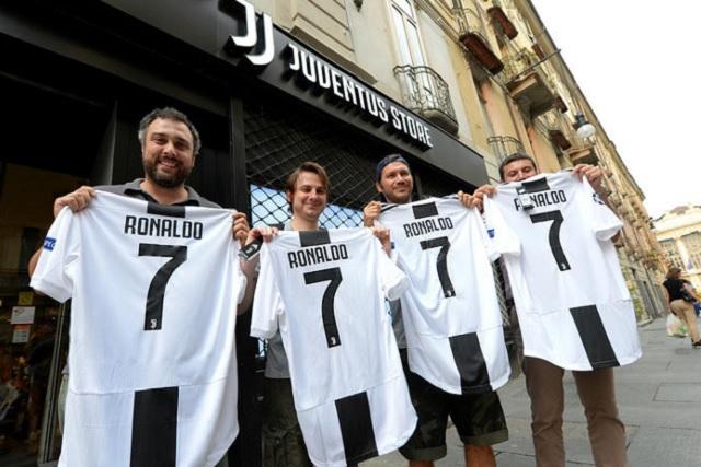 Cristiano Ronaldo es el rey. . . en venta de camisetas