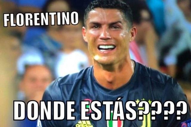Expulsan a Cristiano Ronaldo y los memes lloran con el crack
