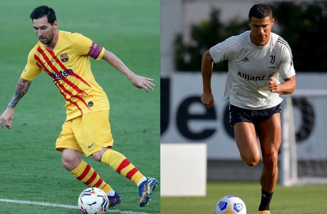 Foto: Instagram Cristiano Ronaldo y Lionel Messi