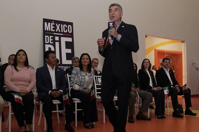 Presentan campaña a favor del Teletón en Puebla