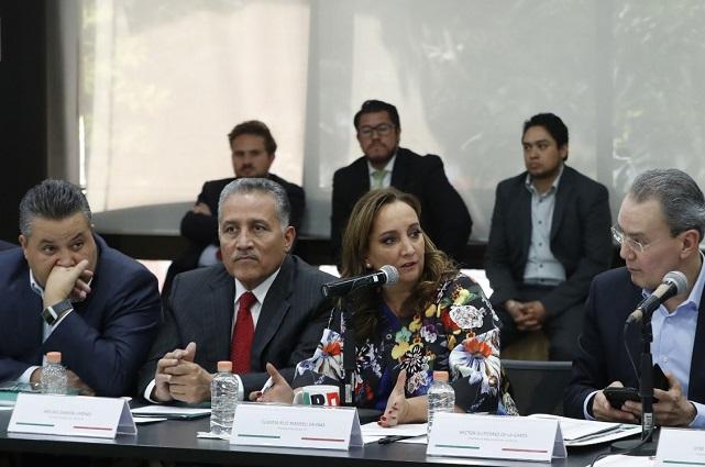 Se reúne Ruiz Massieu con líderes estatales con miras a reforma interna