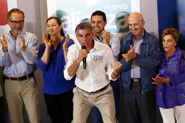 Crónica del triunfo de Gali en las elecciones de Puebla