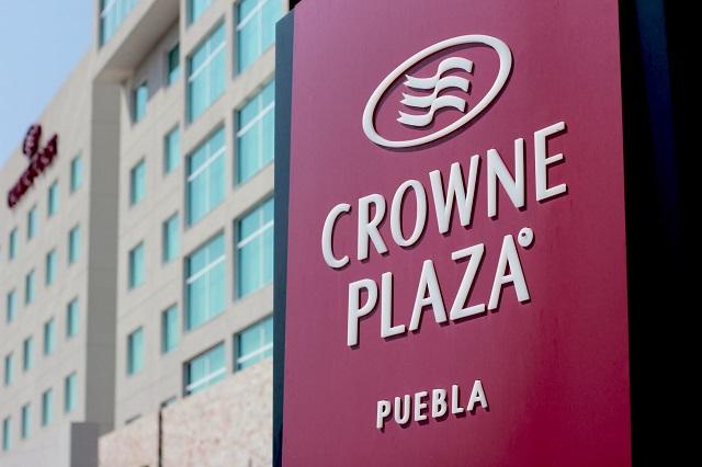 A la venta hotel Crowne Plaza Serdán a 3 años de abierto
