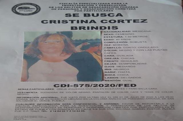 Desaparece mujer en Puebla