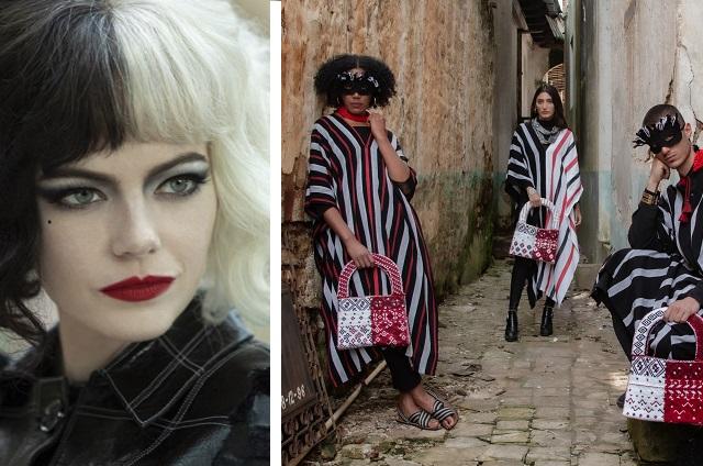Artesanas de Chiapas crean diseños inspirados en película Cruella