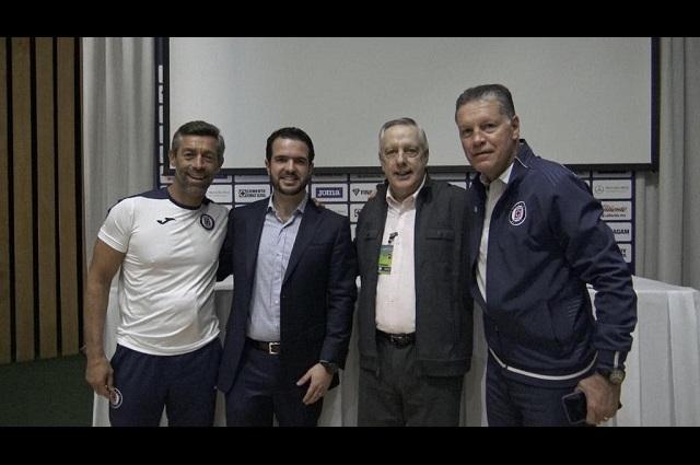 Cruz Azul exige a sus jugadores productividad y calidad: Caixinha