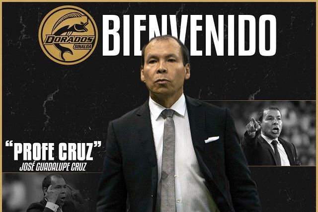 Profe Cruz regresa a la dirección técnica de Dorados