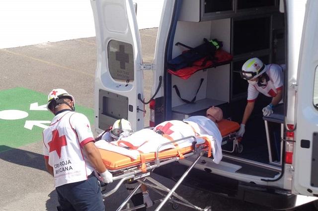 Suspende actividades Cruz roja de Tehuacán por Covid-19