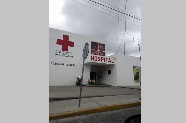 Llama Cruz Roja Tehuacán a respetar al personal médico
