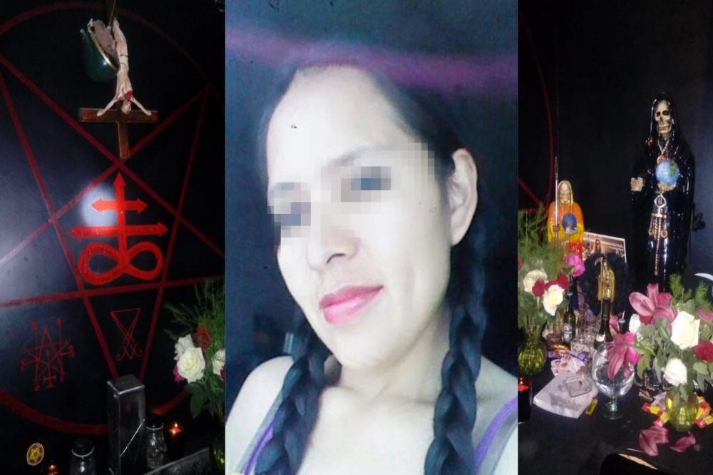 Por feminicidio en Amozoc dan prisión a fieles de la Santa Muerte