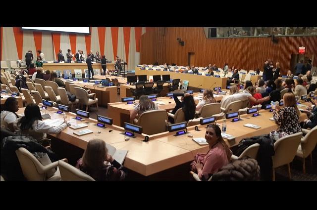 Alumnos de Prepa Anáhuac, presentes en sede de la ONU en Nueva York