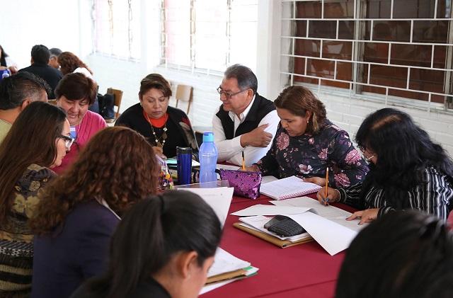 Realizó SEP Consejo Técnico Escolar en todo el estado de Puebla